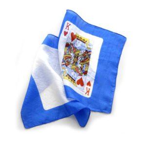 2 Foulards motif cartes pour FP