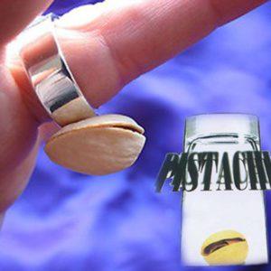 2 Pistaches Magnétiques pour Bague Magique aimantée
