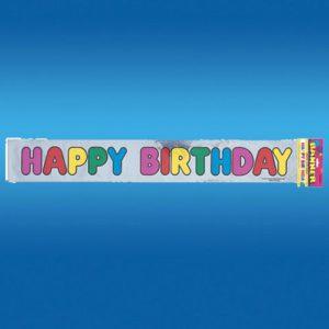 Bannière Happy Birthday aspect Allu