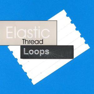 Boucles de fil invisible élastique