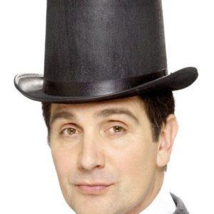 Chapeau du magicien Taille Adulte et Baguette magique
