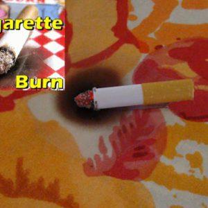 Fausse brûlure de cigarette