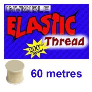 Fil Invisible Elastique 60 M Qualité Supérieure