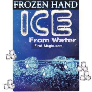 Frozen Hand – Transformer de l'eau en glaçons