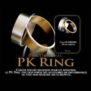 Gold PK Ring – Bague Dorée Aimantée