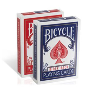 Jeu de Cartes Bicycle Rider Back Rouge