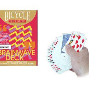 Jeu de cartes Brainwave qualité Bicycle