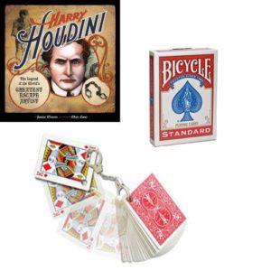 Le Jeu HOUDINI en cartes Bicycle