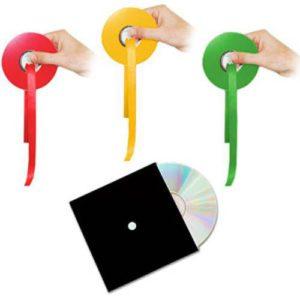 Les CD qui changent de Couleur