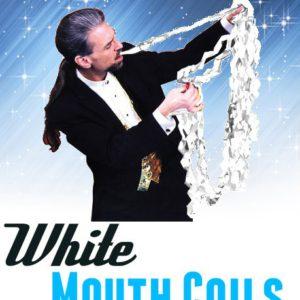 Mouth coil, boite de 12 serpentins blanc