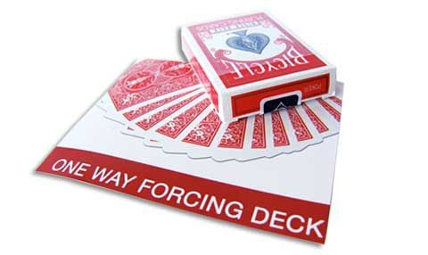 One Way Forcing Deck en qualité BICYCLE