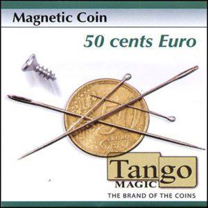 Pièce magnétique de 50 ct d'euro