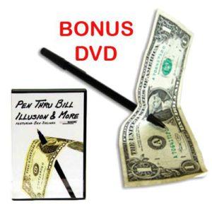 Stylo Magique plus DVD Pen Thru Bill