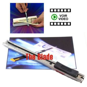 The Blade – Un Cutter transperce un billet