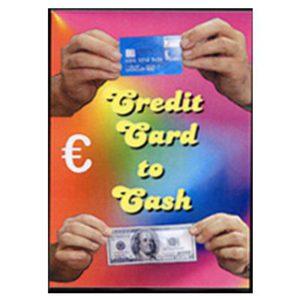 Transformation d'une Carte de crédit en billet.