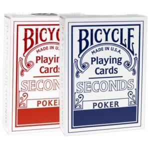 2 jeux de cartes Bicycle SECONDS