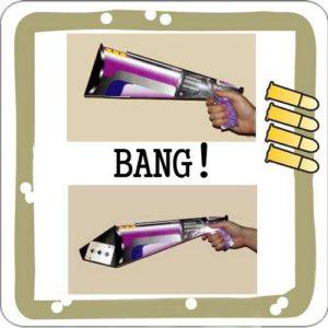 Bang Card Gun – Le Pistolet retrouve la carte