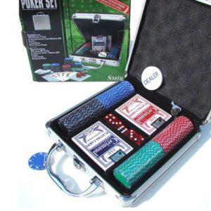 Coffret Aluminium Poker 100 jetons