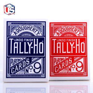 Jeu de cartes Tally-Ho circle Poker 9