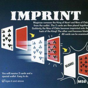 L'Empreinte Magique – IMPRINT the Optical Wallet