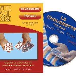 La Socquette et La Chaussette avec Cartes & DVD