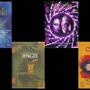 Lot de 4 DVD Ecole de la Magie Vol.1 à 4 de D. Duvivier