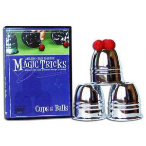 Trois Gobelets plus DVD Cups and Balls